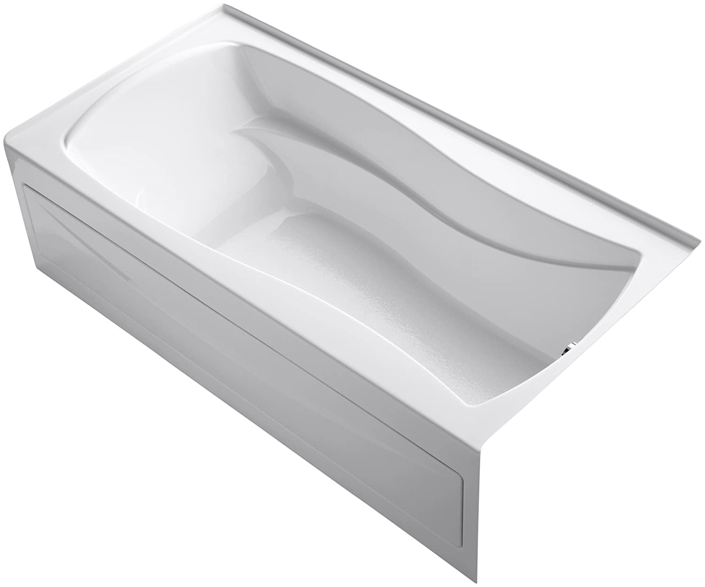 Incroyable KOHLER K 1259 RA 0 Mariposa 6 Foot Bath, White   Recessed Bathtubs    Amazon.com