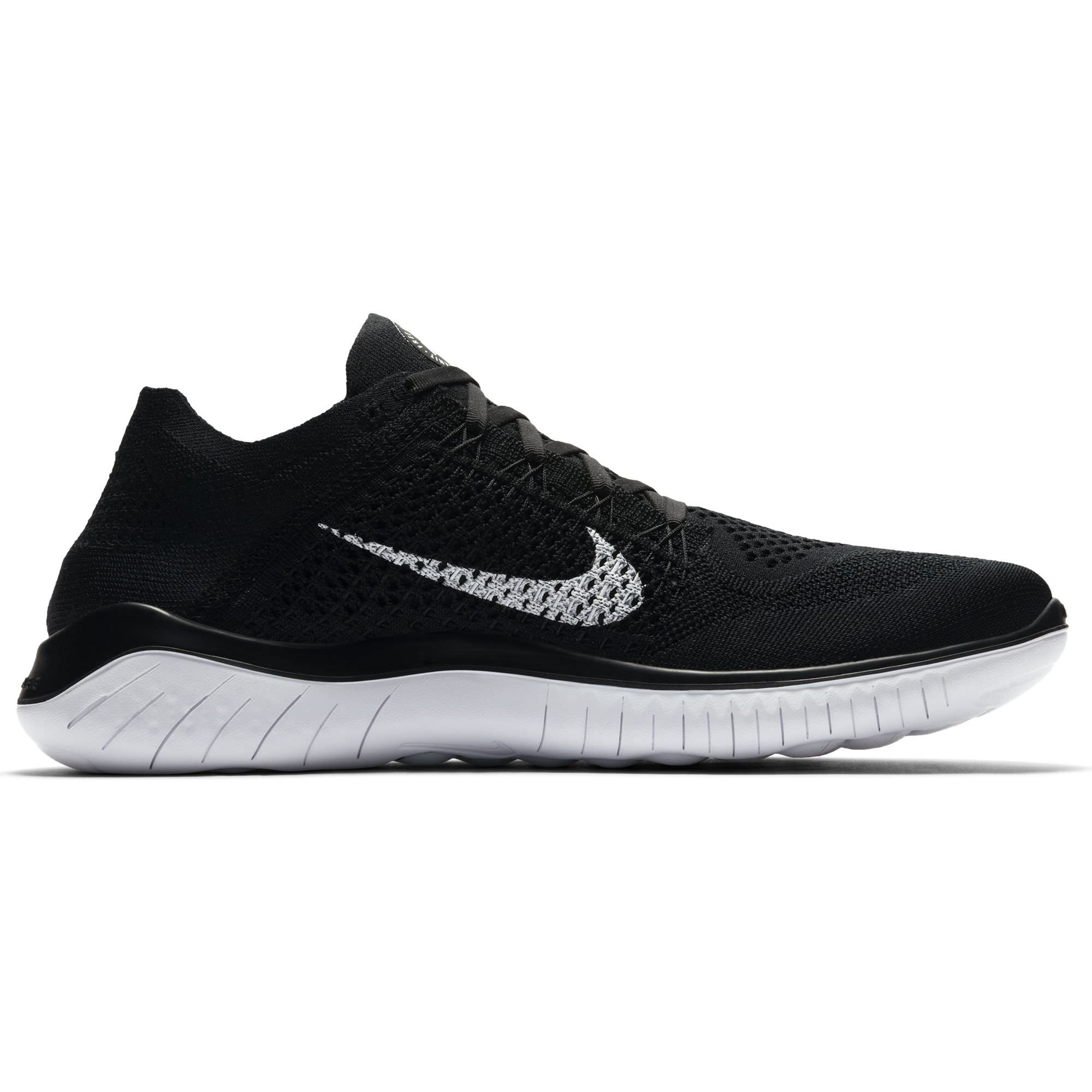 23b2b1f68a967 Galleon - Nike 942838-001  Mens Free Run Black White Running Sneakers (9.5  D(M) US Men)