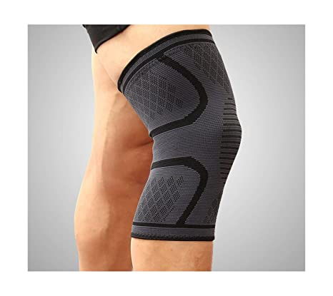 2pcs Outdoor Sports Elastic Knee Support Pad Brace Guard Sleeve Strap Wrap Gym