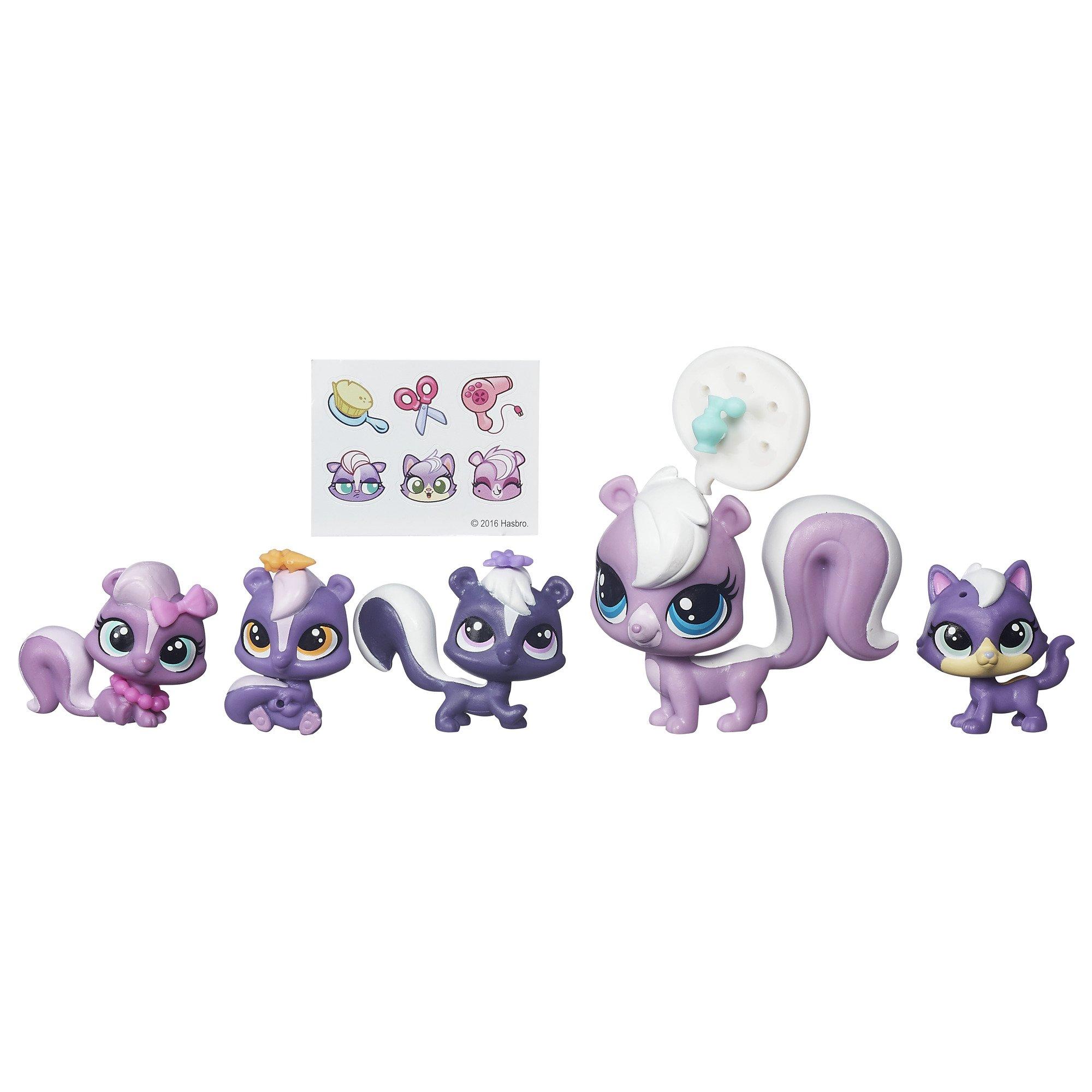 Littlest Pet Shop Surprise Families Mini Pet Pack (Skunks) 4