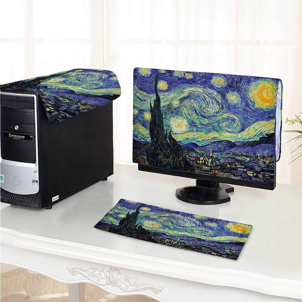 Philiphome Computer dustproof Three-Piece Van Gogh