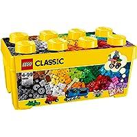 مجموعة لعب صندوق مكعبات بناء متوسط كلاسيك من ليغو، الوان متعددة، 10696