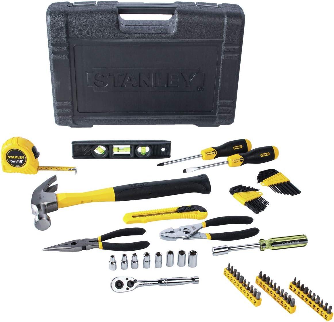 Juego de herramientas Stanley 94-248 para propietarios de casas (65 piezas), 94-248: Amazon.es: Bricolaje y herramientas