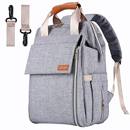 Multi-Function Waterproof Bag Baby Diaper Nappy Mummy Changing bag Backpack Set