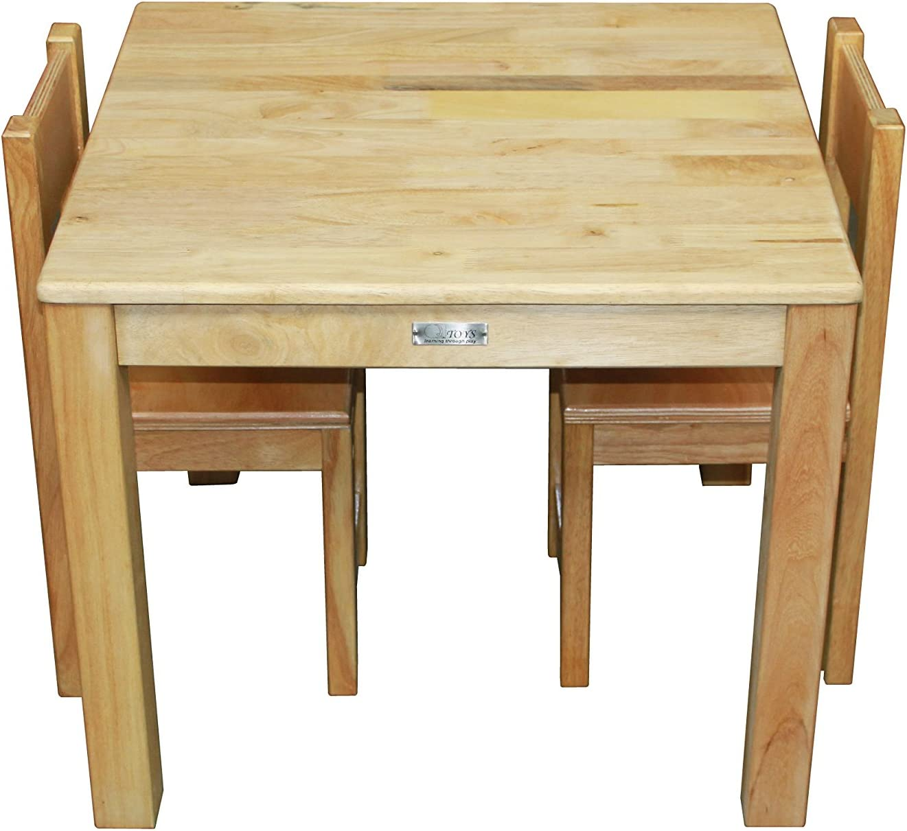 QToys Australia Standard Rubberwood Table