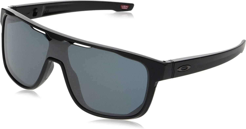 Oakley Men's Oo9387 Crossrange Shield Sunglasses Rectangular