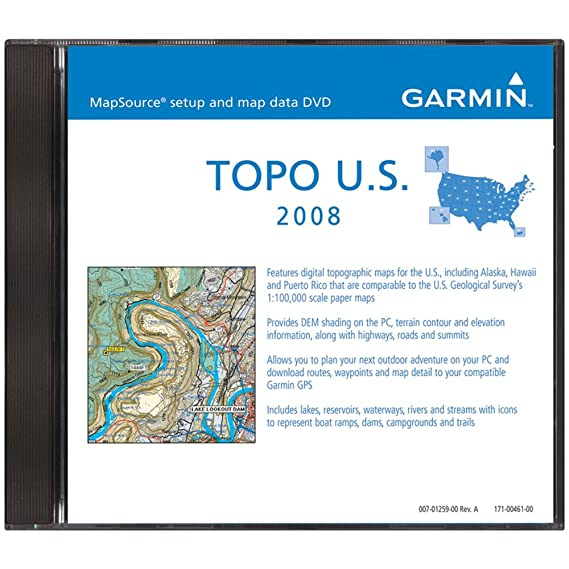 Amazon.com: Garmin TOPO U.S. 100K: Cell Phones & Accessories