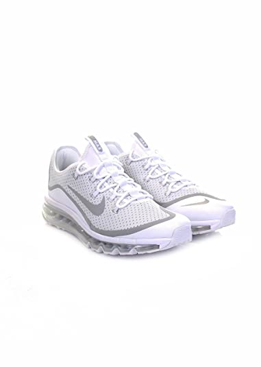 Nike Herren Air Max More Trainer Elfenbein (Whitemetallic