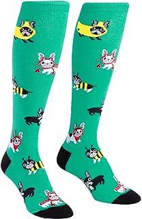 Sock It To Me Women/'s Funky Knee High Socks Office Casual