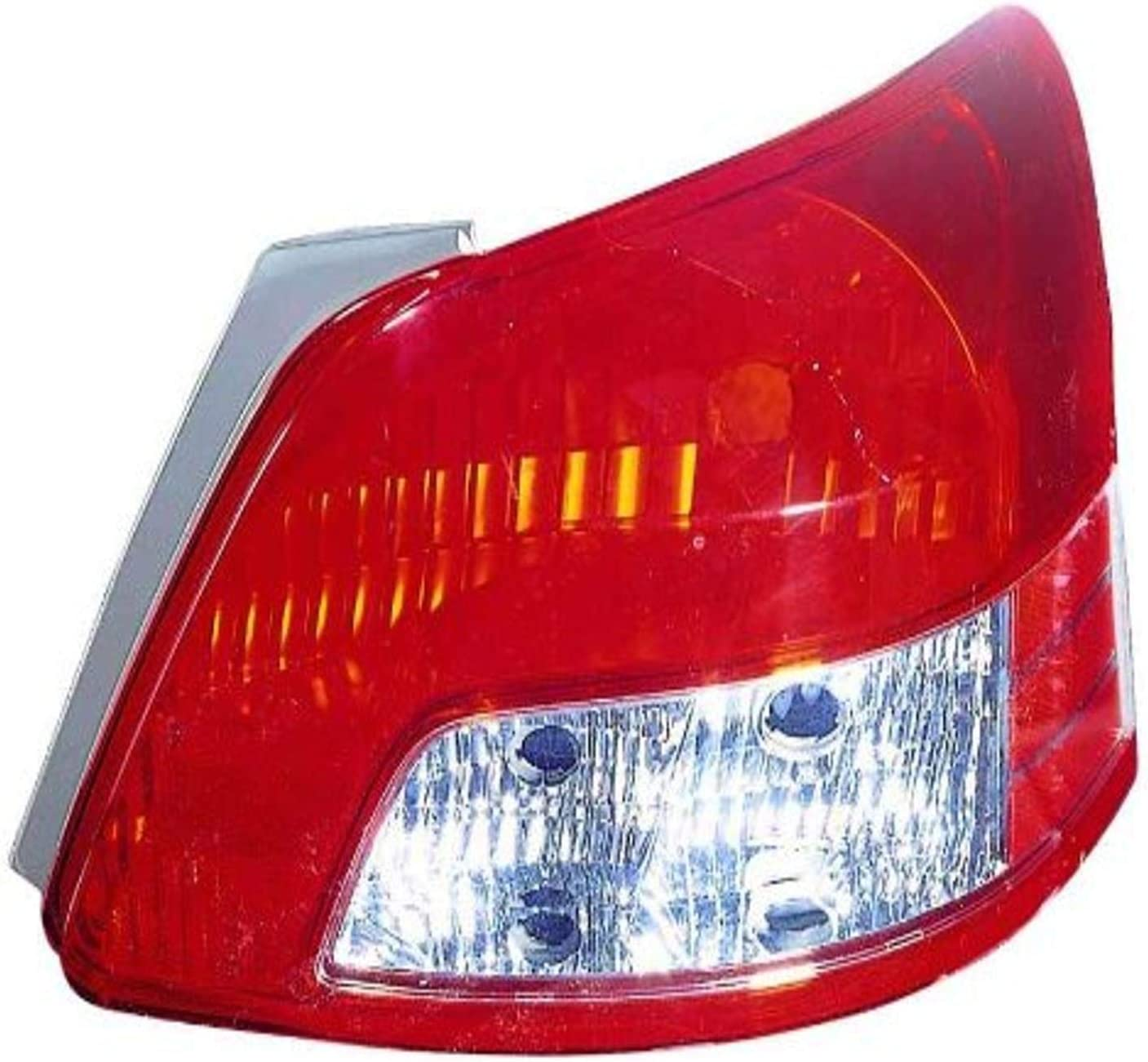 DEPO 312-1980L-USN Replacement Driver Side Ranking integrated 1st place Tail NEW before selling Light Housing T