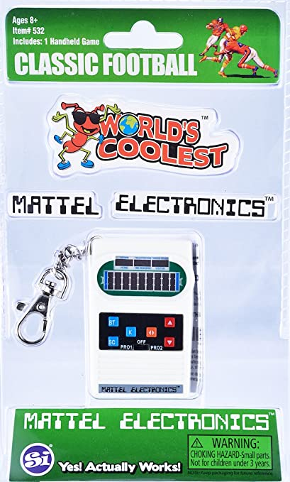 Worlds Coolest Football Miniature version of the Classic Mattel