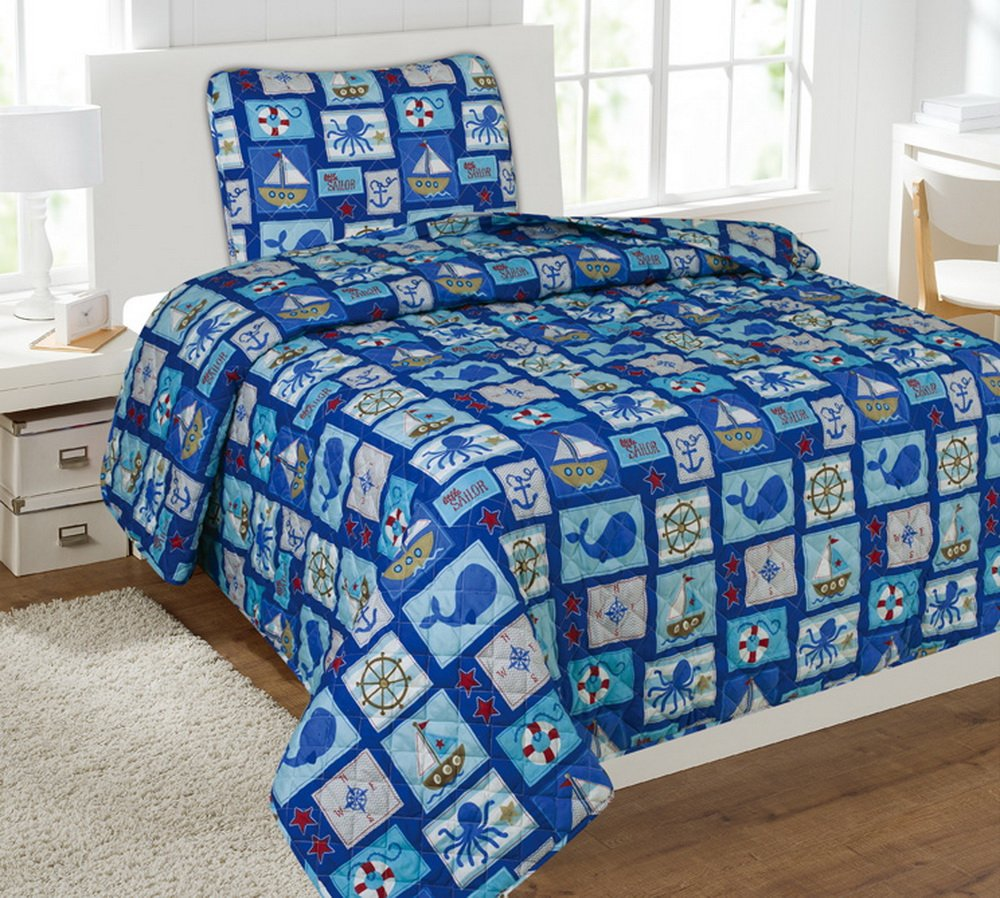 Fancy Collection 5pc Kids/teens Boys & Girls Assorted Desigs Luxury Bed-in-a-bag Quilt Comforter/Sheets 5pcs Set
