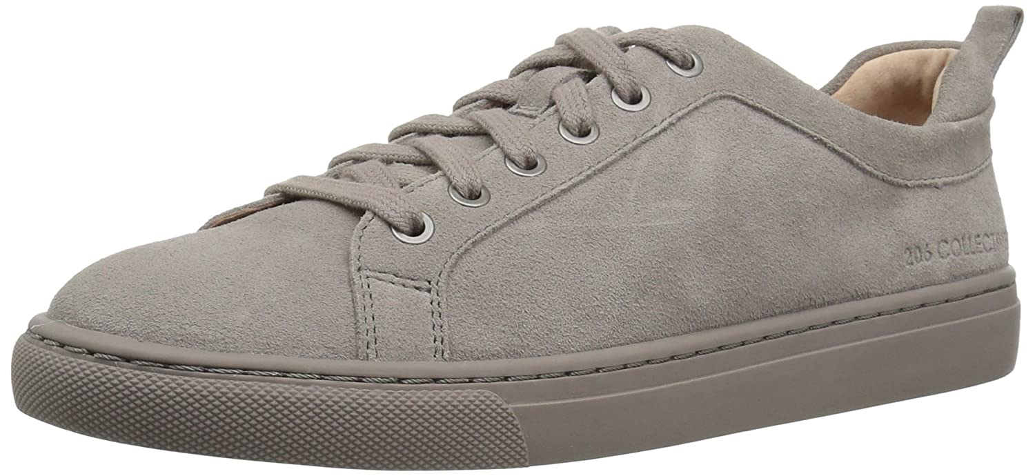 206 Collective Women's Lemolo Lace-up Fashion Sneaker B078GPZ5TF 10 B(M) US|Gray Suede