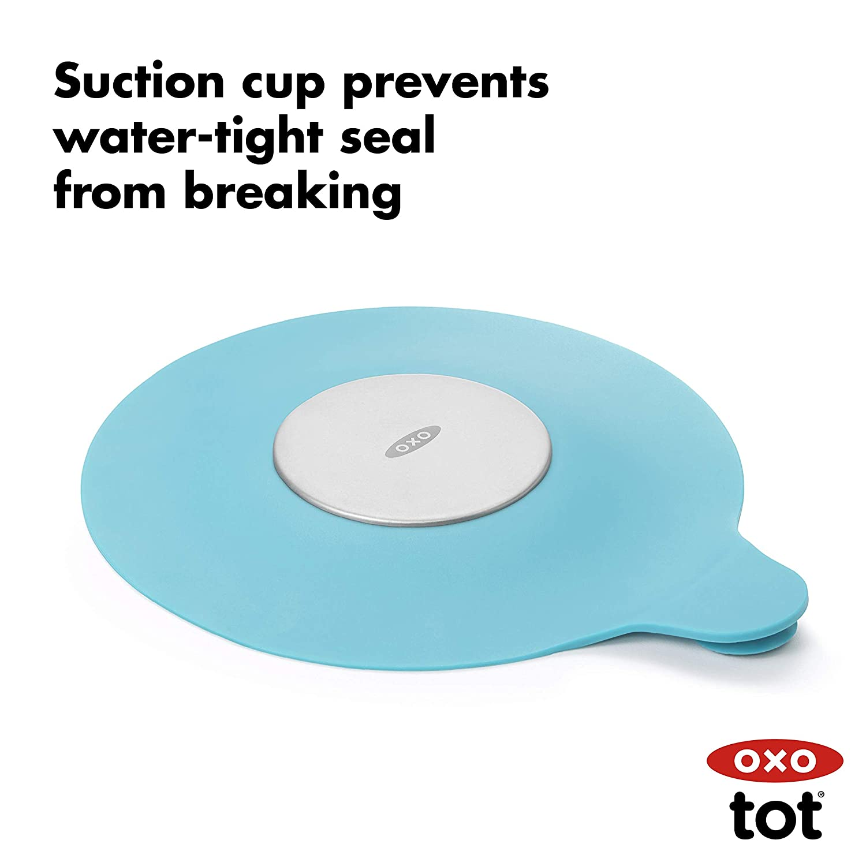 OXO Tot Tub Stopper Aqua : Bathtub Stopper : Baby