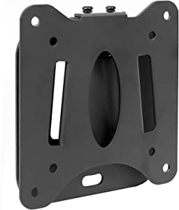 Mount-It! Low Profile Fixed TV Wall Mount for Small Televisions Computer Monitors, Fits 13