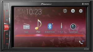 "Pioneer MVH210EX 6.2"" Double DIN in-Dash Multimedia A/V Receiver with Bluetooth"