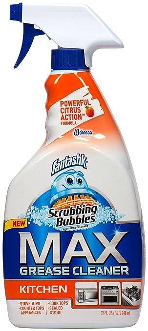 Scrubbing Bubbles Max Grease Cleaner Kitchen