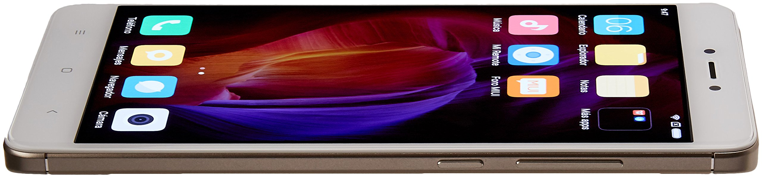 Xiaomi Redmi Note 4 5.5-Inch GSM Unlocked Smartphone with Dual LTE, 32GB, Dual Sim, 13MP, No Warranty - International Version (Gold) by Xiaomi