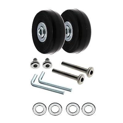 SING F LTD Luggage Suitcase Wheels Od 50Mm Repair Tools Kit: Toys & Games