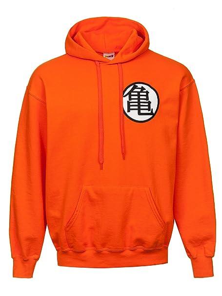 Dragon Ball Z Symbols Sudadera con Capucha Naranja: Amazon.es: Ropa y accesorios
