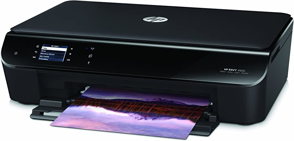 HP Envy 4500 Wireless All-in-One Color Photo Printer, HP Instant Ink & Amazon Dash Replenishment Ready (A9T80A)