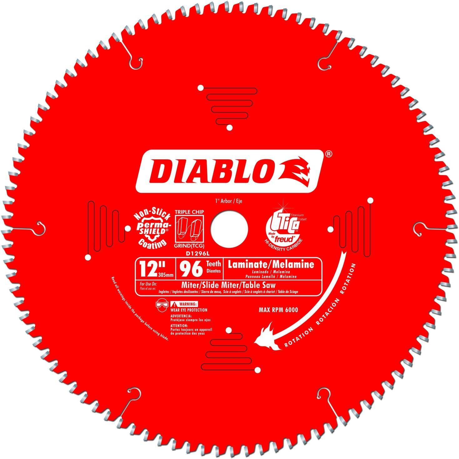 Freud D1296l Diablo Melamine Laminate Flooring And Wood Saw