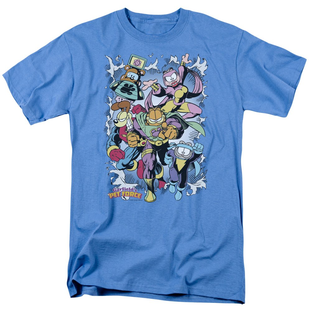 Garfield Comic Cat Ripped Licensed Adult T-Shirt