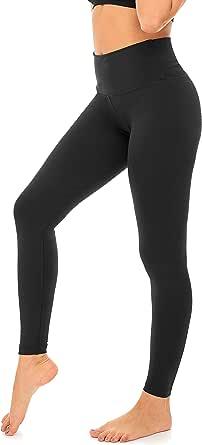 DEAR SPARKLE Thick Leggings High Waist Yoga Pants for Women Workout Slim Athletic Running Legging Plus Size (Z2)