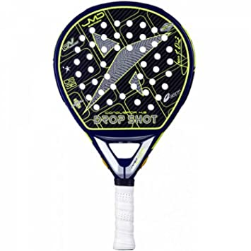 DROP SHOT Conqueror 4.0 - Pala de pádel, Color Negro/Amarillo, Talla 38 mm: Amazon.es: Deportes y aire libre