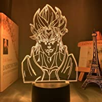 Acrylic Night Lamp Anime Jojos Bizarre Adventure for Bedroom Decor Light Touch Sensor Colorful Table Led Night Light Dio…