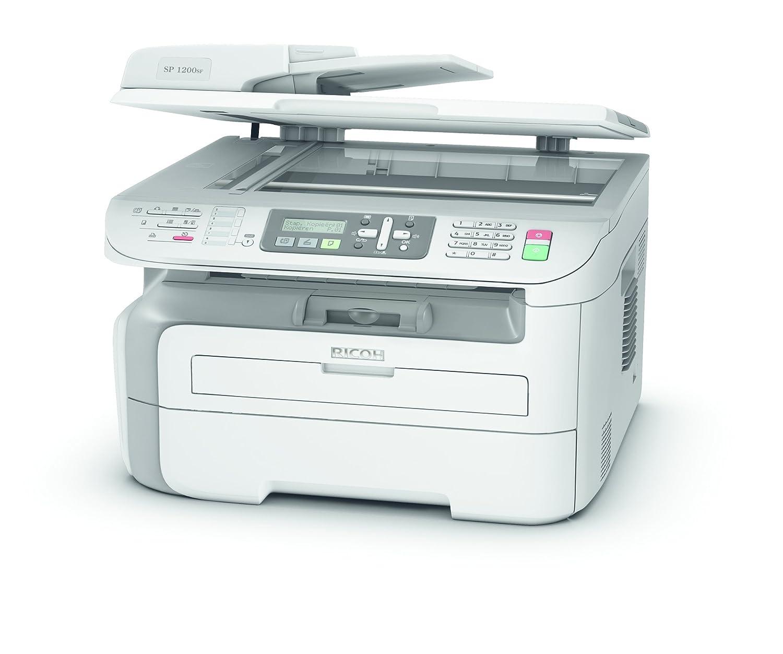 Ricoh Aficio SP 1200SF - Impresora Multifuncional, 2.400 x 600 dpi ...
