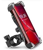 Bovon Anti-Shake Bike Phone Mount, 360 Rotation Universal Bicycle Motorcycle Phone Mount Holder Stand Cradle Clamp…