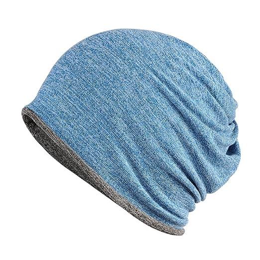 Amazon.com  Winter Hat Warm Outdoor Dual-use Men Women Skull Cap ... c3cd087caa