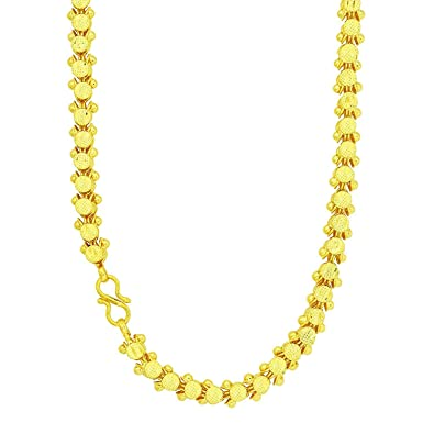 Buy Memoir Gold Plated Handcrafted Gajra Flower Design Super