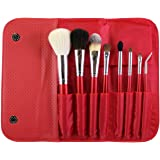 Morphe 8 Piece Candy Apple Red Makeup Brush Set (Set 700) by Morphe Brushes