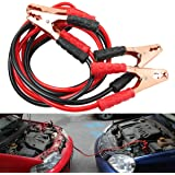 NIKAVI Heavy Duty 6.5 FT 2 Gauge Booster Cable Jumping Cables Power Jumper (1000 AMP)