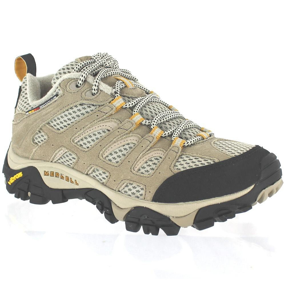 Merrell Women's Moab Ventilator Hiking Shoe,Taupe,5.5 M US