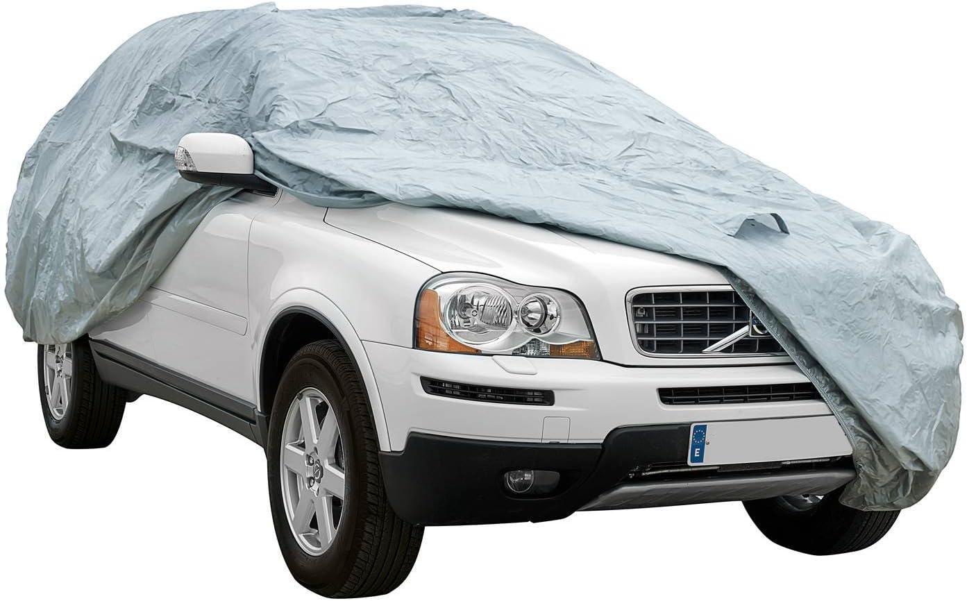 impermeable doble capa sint/ética y de finas trazas de algod/ón por el interior transpirable para evitar la condensaci/ón en el parabrisas. Funda exterior premium para Mitsubishi OUTLANDER