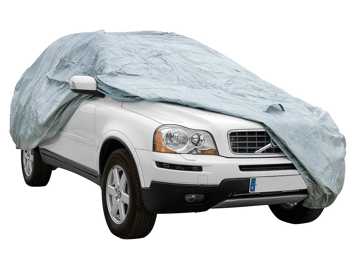 Funda exterior premium para Volkwagen TIGUAN transpirable para evitar la condensaci/ón en el parabrisas. impermeable doble capa sint/ética y de finas trazas de algod/ón por el interior