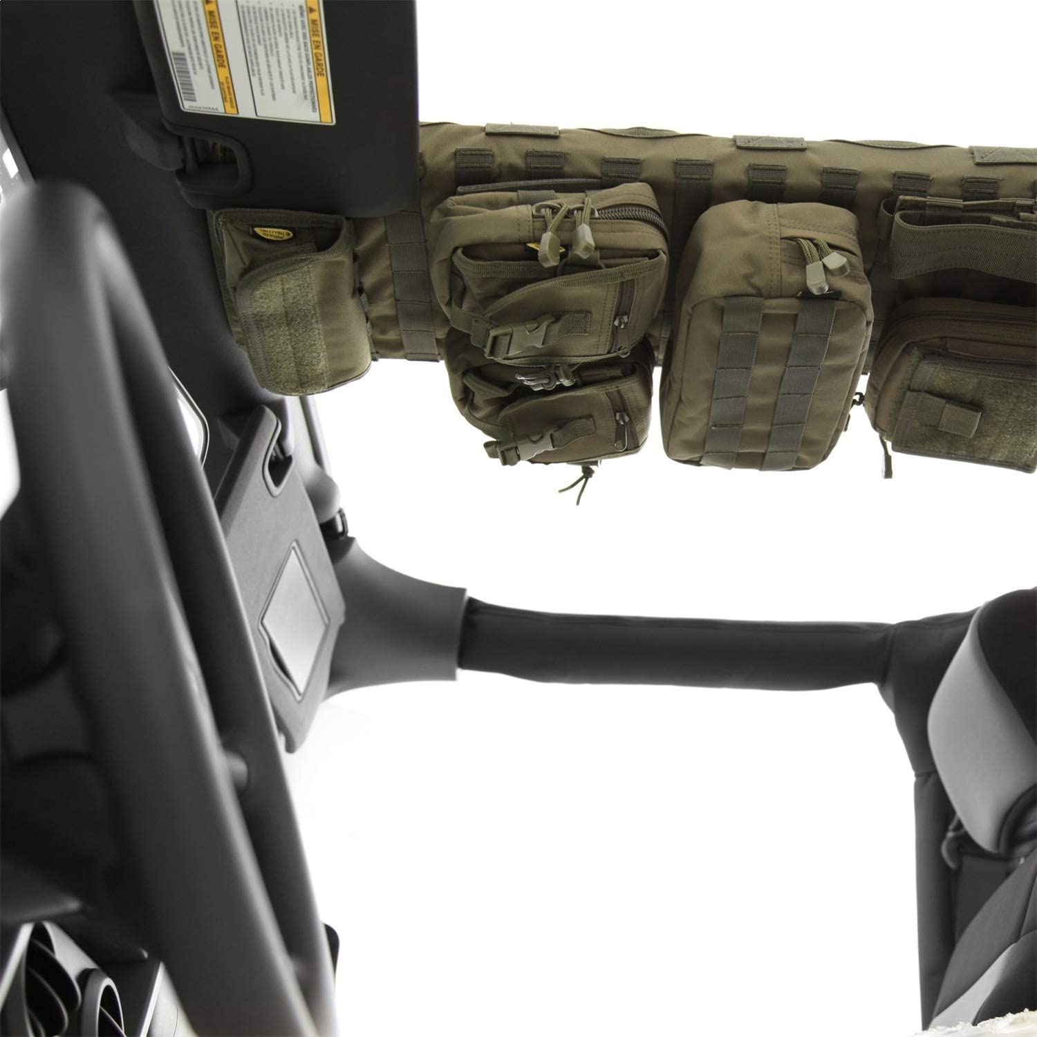 Smittybilt 5666031 GEAR Olive Drab Green Overhead Console