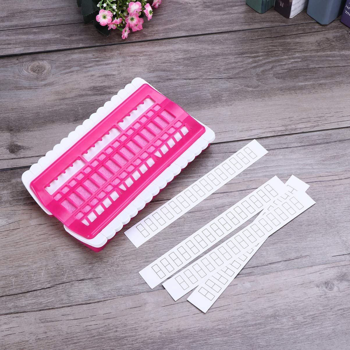 Healifty Embroidery Thread Organizer Cross Stitch Thread Holder Sewing Needle Pins Holder Craft Tools Accessory
