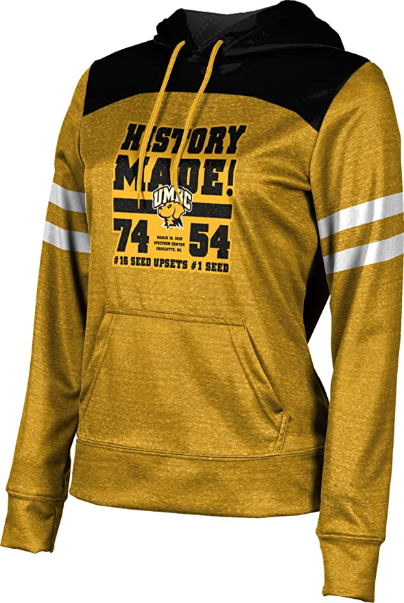 ProSphere University of Maryland Baltimore County Basketball Girls Pullover Hoodie School Spirit Sweatshirt Heather