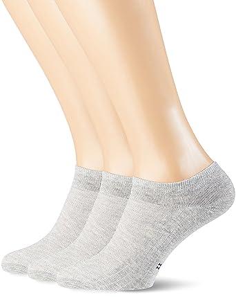 POMPEA Cotton Calzini alla Caviglia (Pacco da 3) Uomo