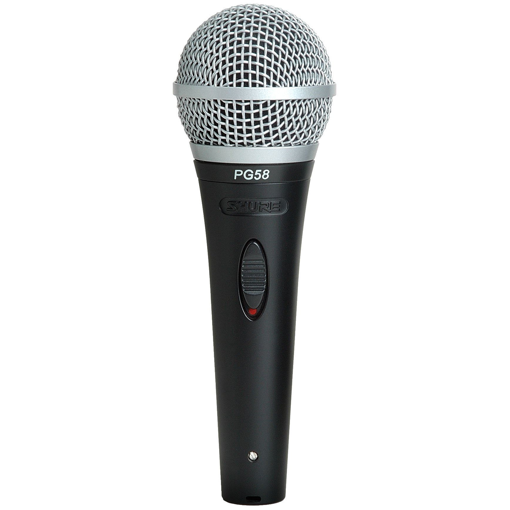 Shure PG58-XLR Cardioid Dynamic Vocal Microphone with XLR-to-XLR Cable by Shure