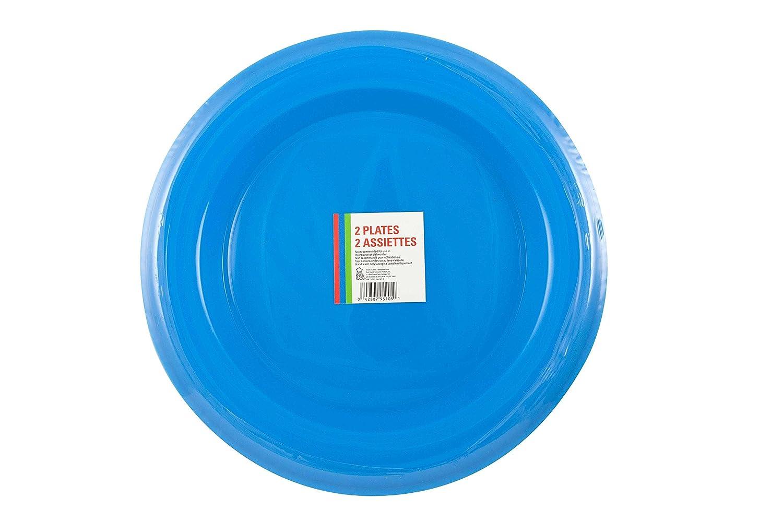 Bestブランドパーティープレート 1-Pack ブルー B01CKMQ2AW  ブルー 1-Pack