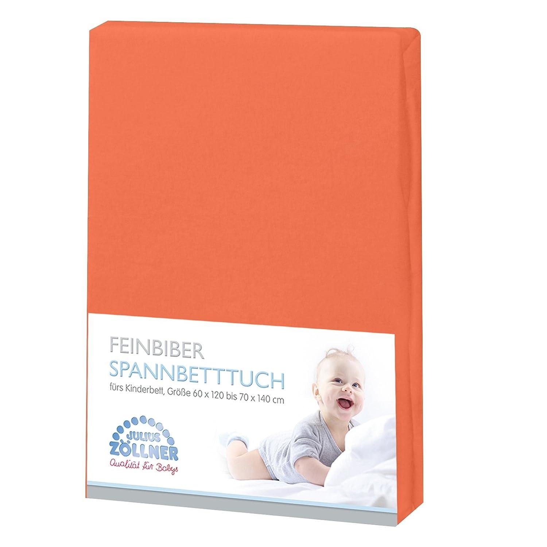 Z/öllner Spannbetttuch Feinbiber 70X140 cm melba 3er Pack