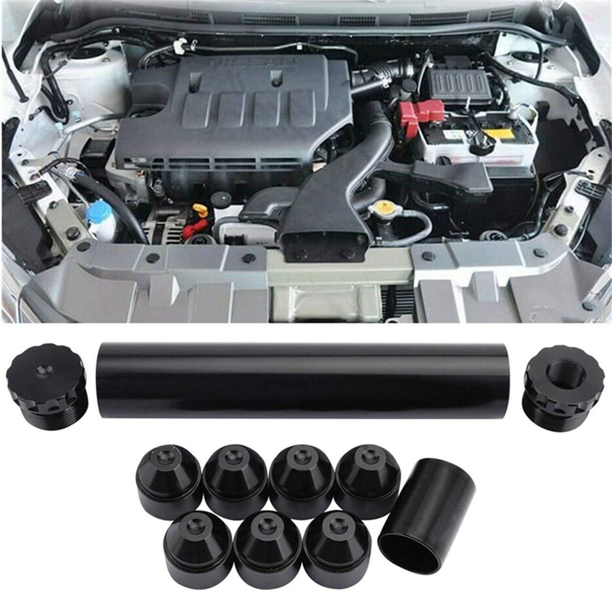 1//2-28 NAPA 4003 WIX 24003 Filtro carburante Trappola solvente in alluminio Nero Automobiles Filtri Parti Filtri carburante colore: nero
