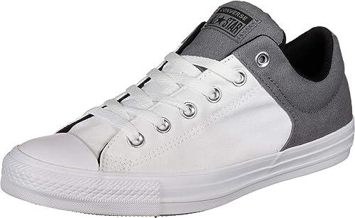 Converse Chucks 164286C Grau Weiss Chuck Taylor All Star High Street OX Mason White Black