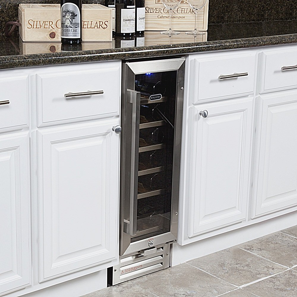 Amazon.com: Whynter BWR-18SD 18 Bottle Built-In Wine Refrigerator ...