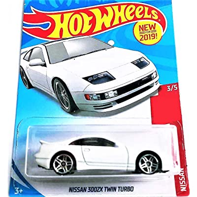 Hot Wheels 2020 Nissan Series Nissan 300ZX Twin Turbo 112/250, White: Toys & Games